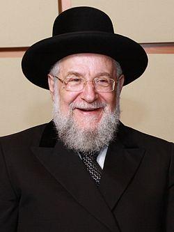 """הרב ישראל מאיר לאו שליט""""א"""